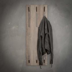 Porte-manteau vintage en MDF 2 x 3 crochets Yelena
