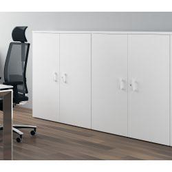 Armoire de bureau contemporaine hauteur 159 cm Opaline