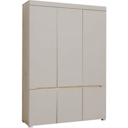 Armoire adulte moderne chêne/taupe Odeline