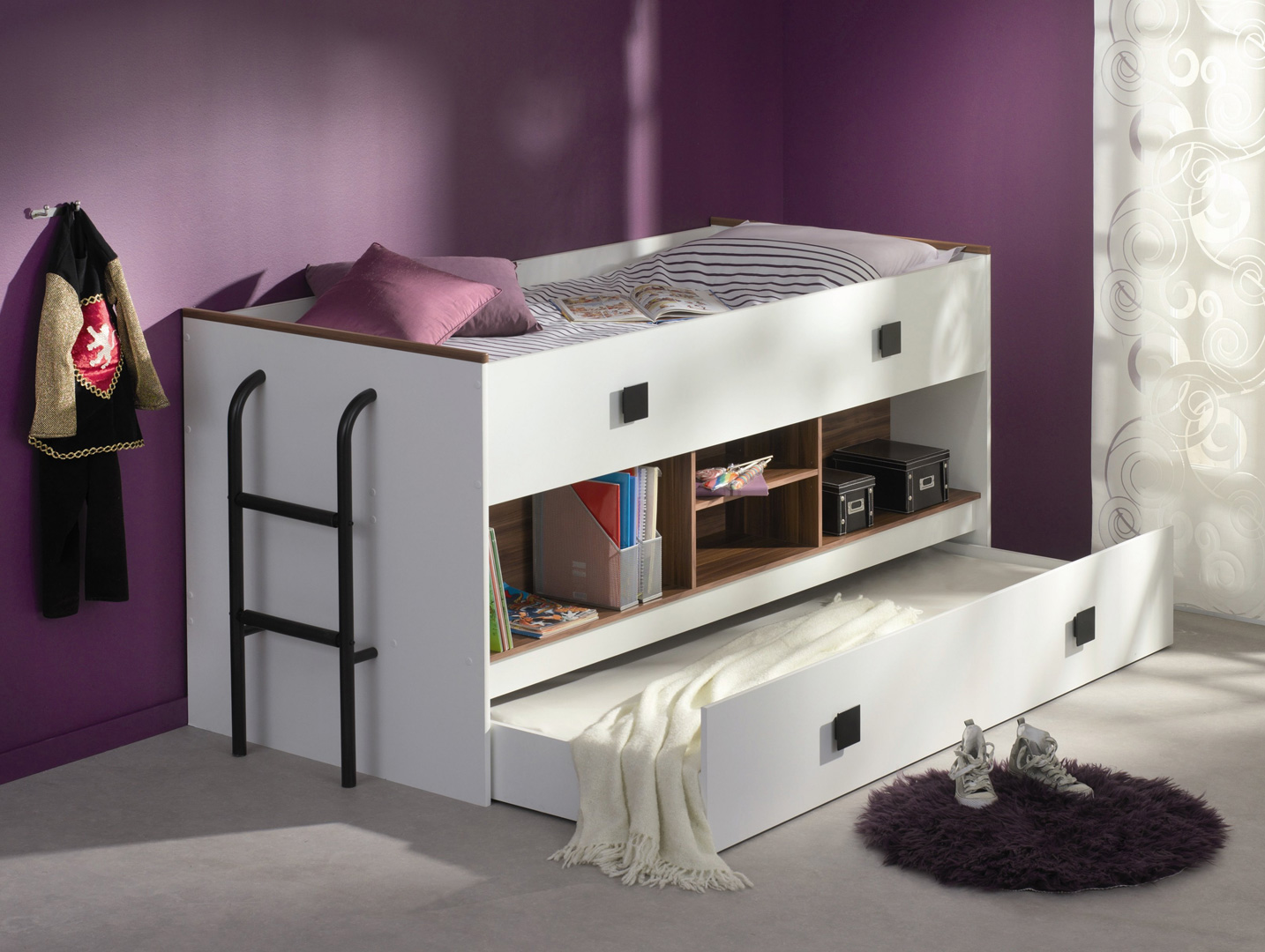 Lit combiné avec tiroir lit BIBOP