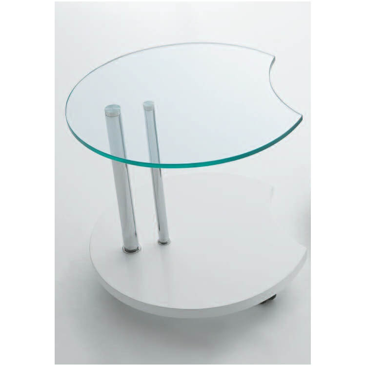 Table basse en verre ROUND