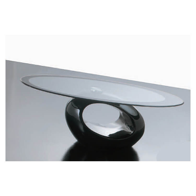 Table basse en verre TUNNEL