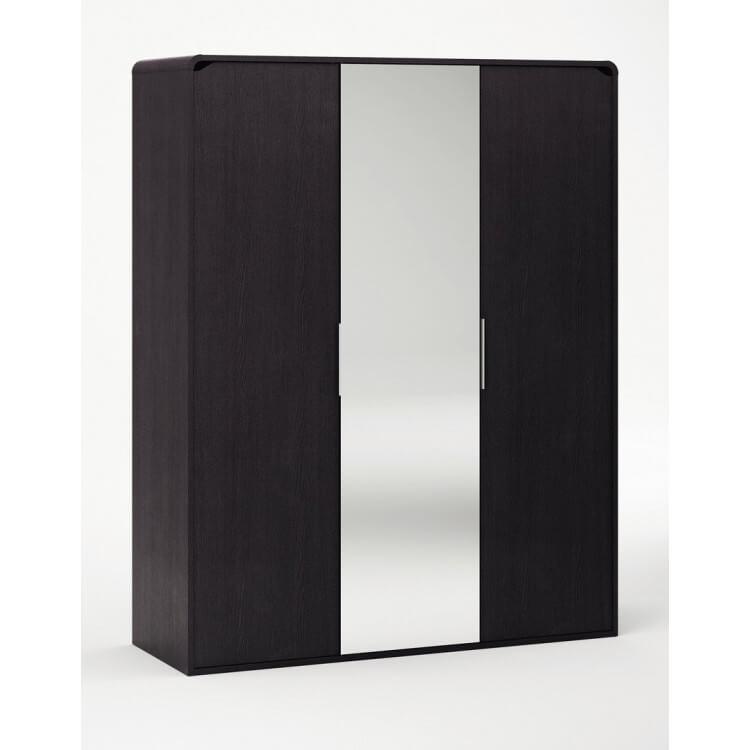 Armoire 3 portes avec miroir AURORE