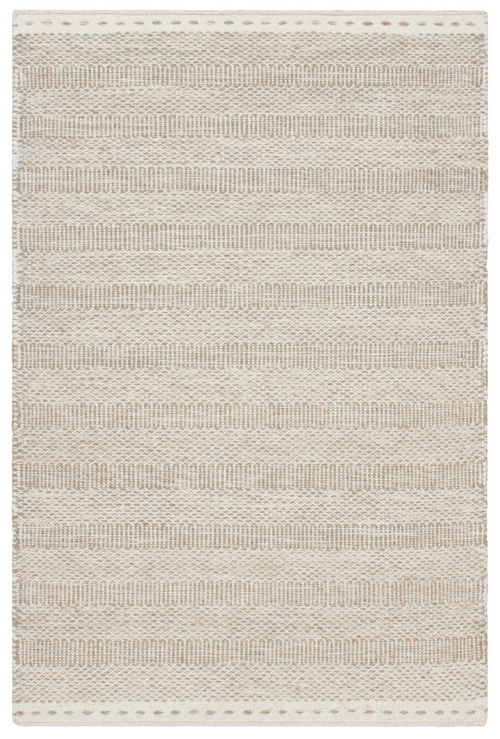 Tapis moderne en laine rectangle tissé main Dalma