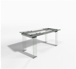 Table salle à manger avec allonges GLOSSY