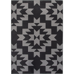 Tapis à courtes mèches scandinave rectangle Kusel