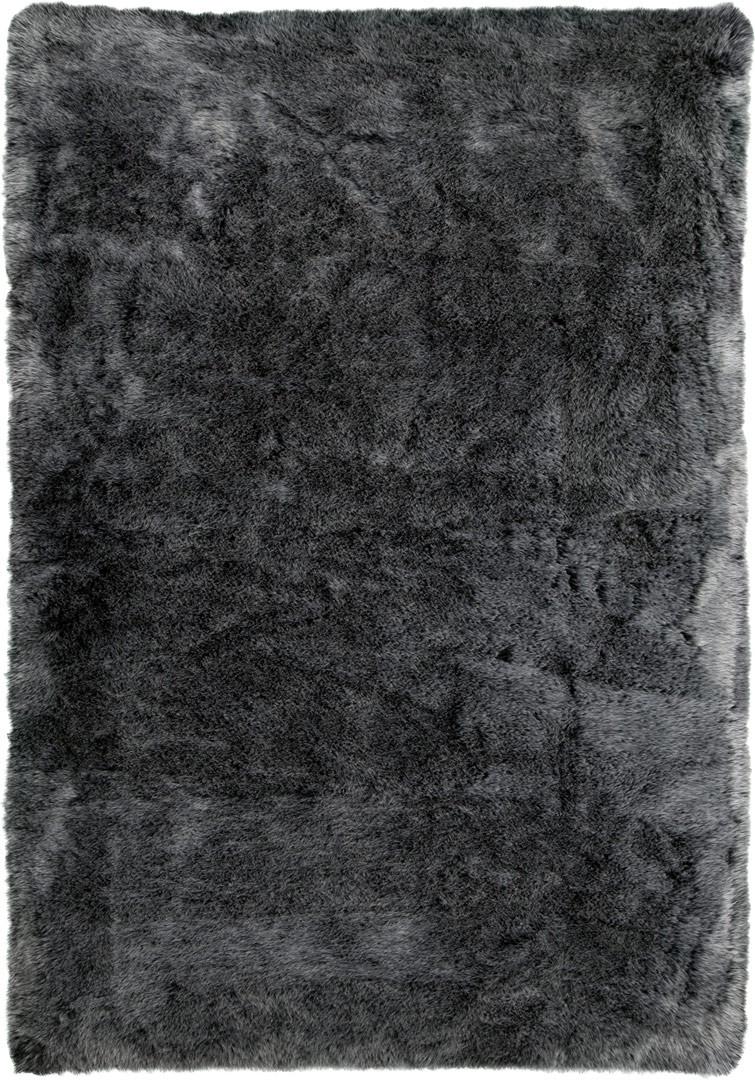 Tapis en peau de mouton synthétique shaggy Berenike