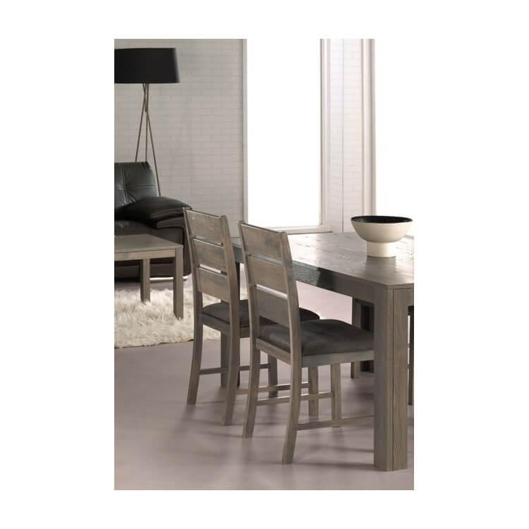 Lot de 2 chaises de salle à manger NEBRASKA