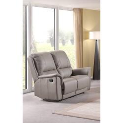 Canapé de relaxation 2 places cuir EPHESE
