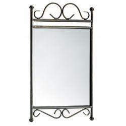 Miroir rectangulaire fer forgé ARABESQUE
