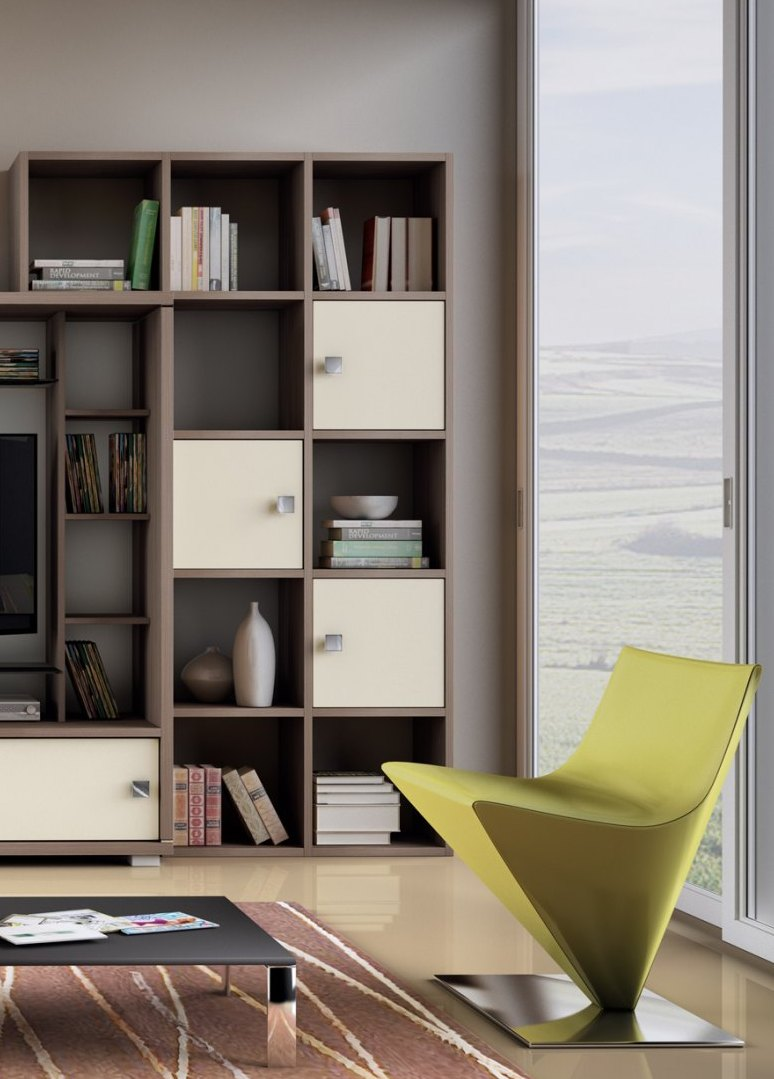 Bibliothèque pour living GLAMOUR