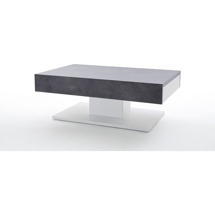 Moderne Houria Table Blancbéton Moderne Table Blancbéton Basse Basse c54AjqL3R