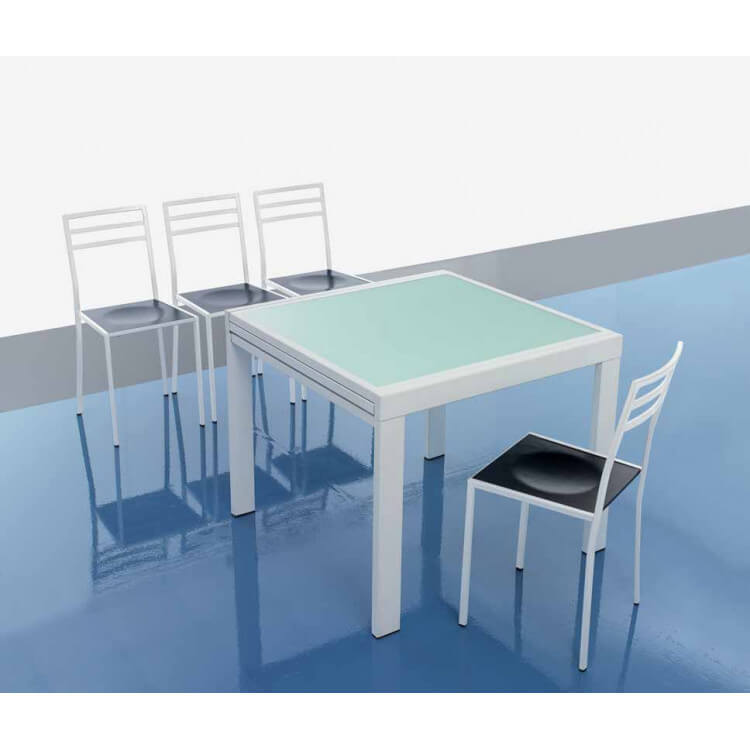 Table et chaises ZENITUDE II