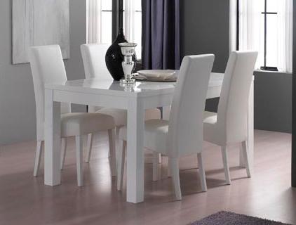 Lot de 4 chaises de salle à manger DIVA