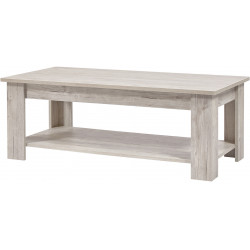 Table basse contemporaine chêne clair Milano