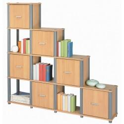 Bibliothèque design STEP