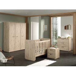 Chambre bébé contemporaine chêne minerva Yoni