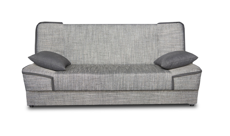 Canapé convertible moderne en tissu Maximilien