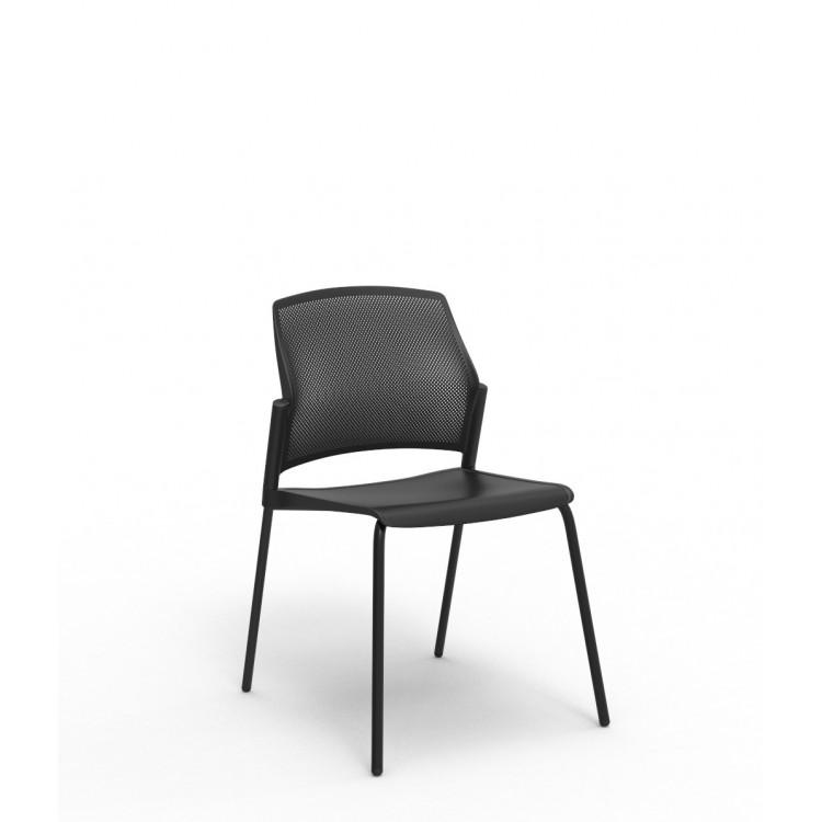 Chaise visiteur classique en PVC Player