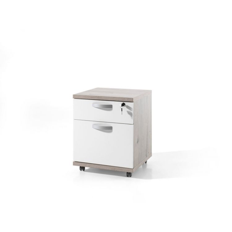 Caisson de bureau contemporain 2 tiroirs Carmelo