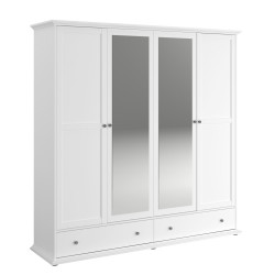 Armoire adulte 198 cm style campagne Stefano