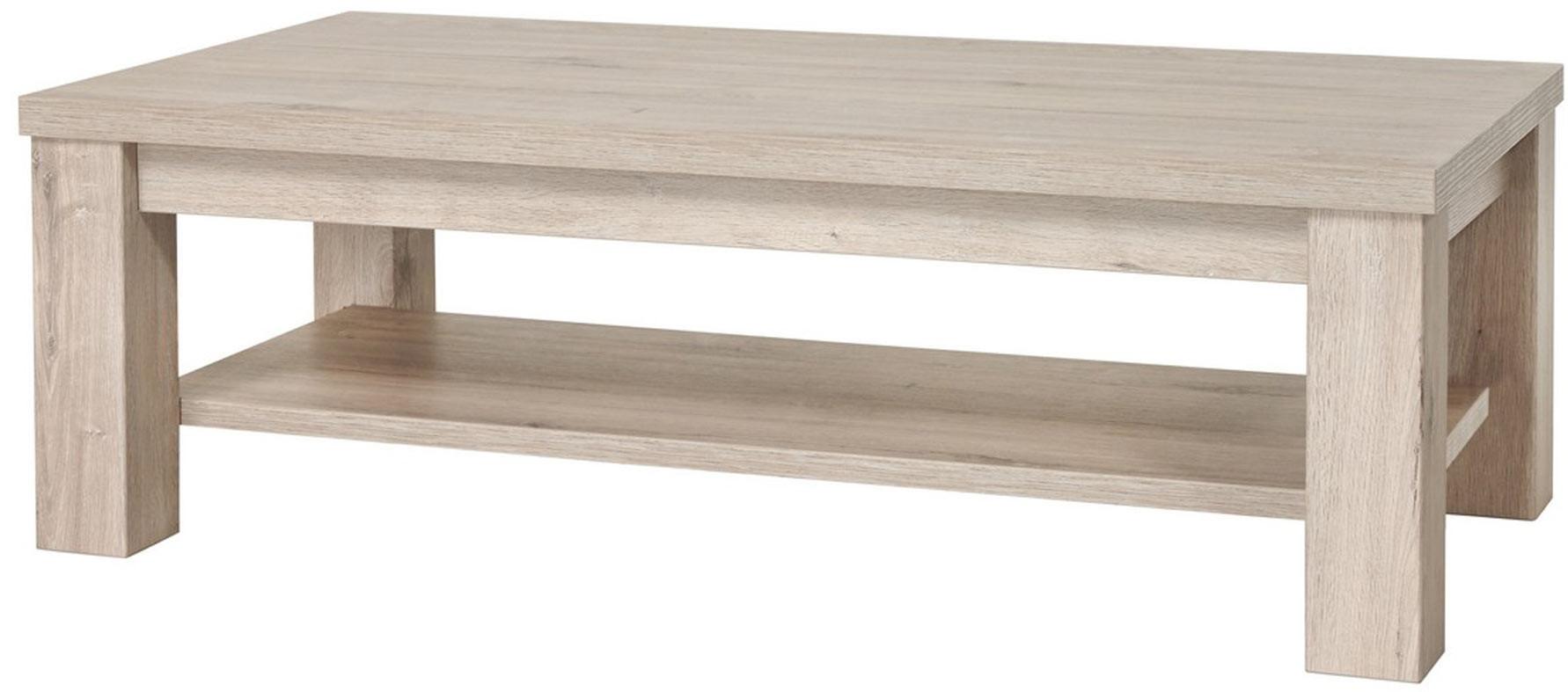 Table basse contemporaine chêne clair Perrine II