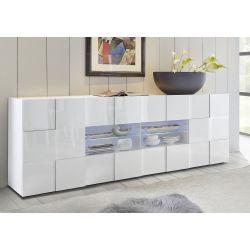 Buffet/bahut design 2 portes/4 tiroirs Milenor