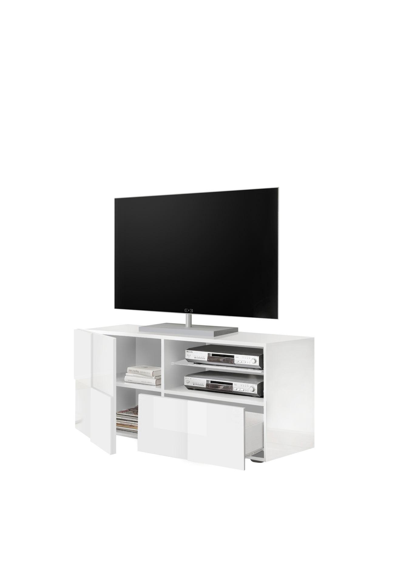 Meuble TV design 122 cm Milenor