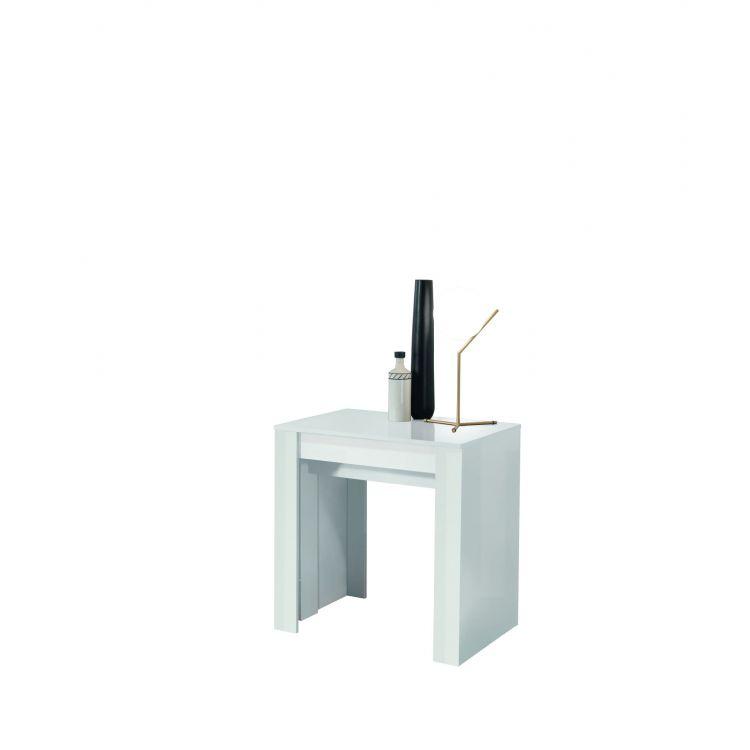 Table console extensible contemporaine Eleonore