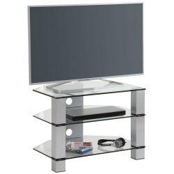 Meuble TV moderne en verre Helda