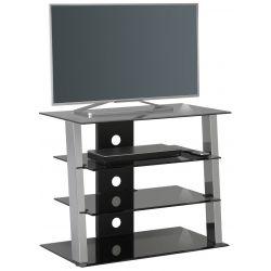 Meuble TV moderne en verre 80 cm Futura