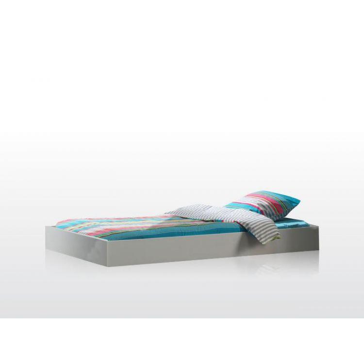 Tiroir-lit contemporain blanc Elara