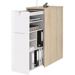 Armoire de bureau contemporaine Hermann II