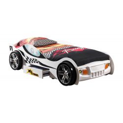 Lit voiture enfant moderne Turbo