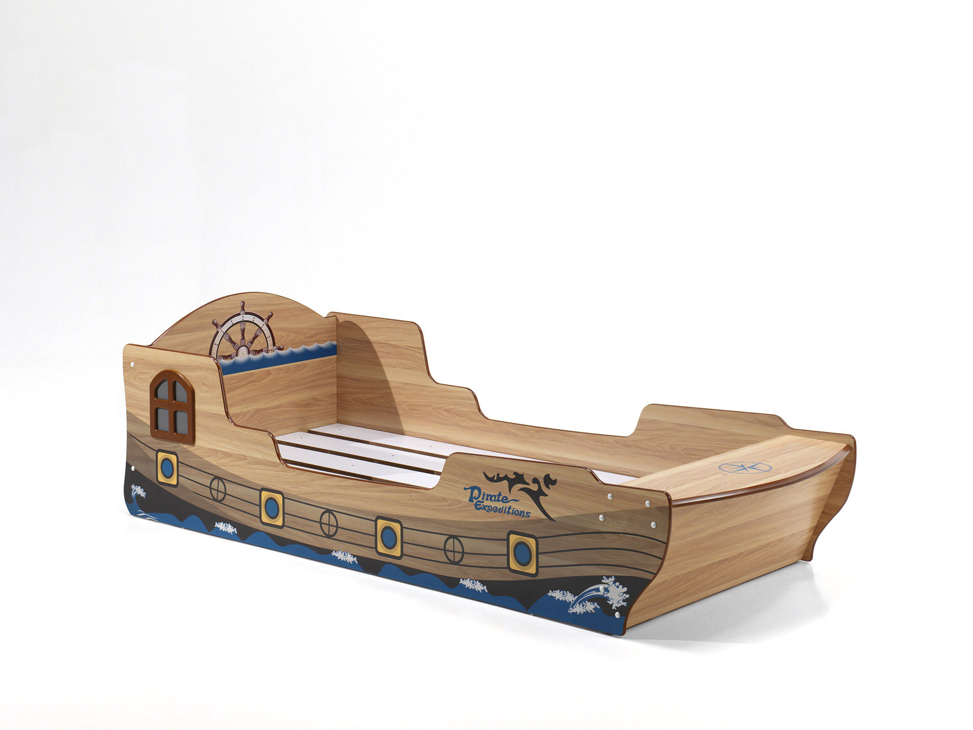 Lit bateau enfant moderne Barbenoir