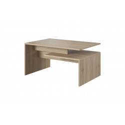 Table basse contemporaine chêne clair Jafar