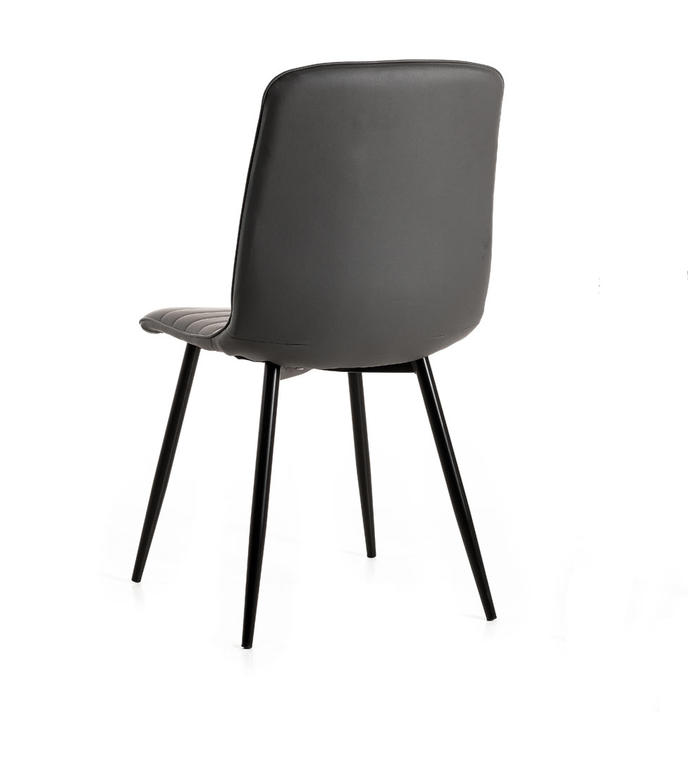 Chaise de salle à manger moderne en PU (lot de 2) Jerrico