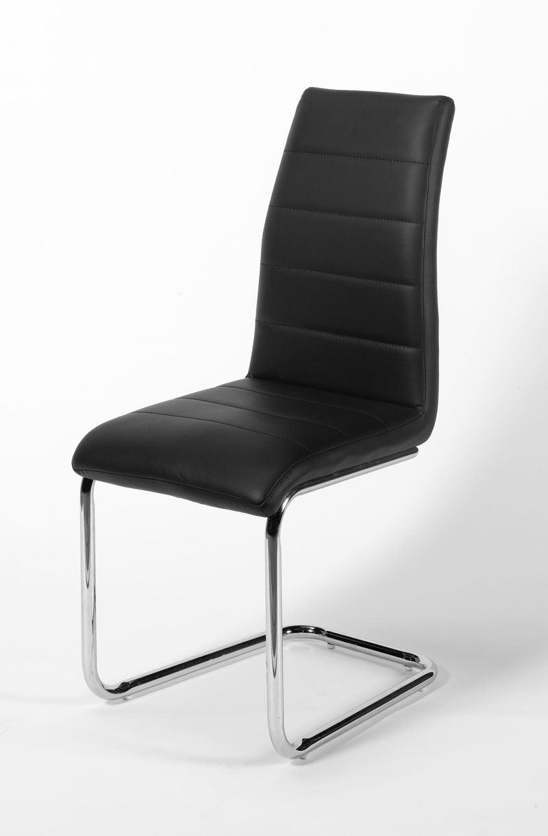 Chaise de salle à manger moderne en PU (lot de 2) Anita