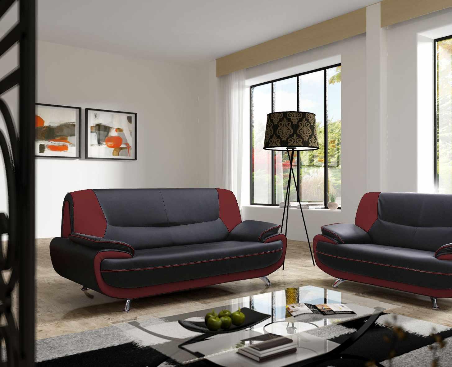 Canapé design 3 places SUN