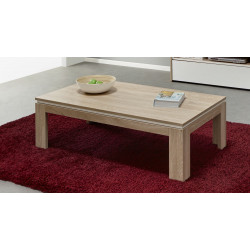 Table basse contemporaine chêne canberra Lazare