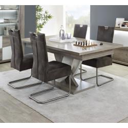 De Manger Salle Table À Chêneblanc Moderne Extensible Saphir PiZuXk