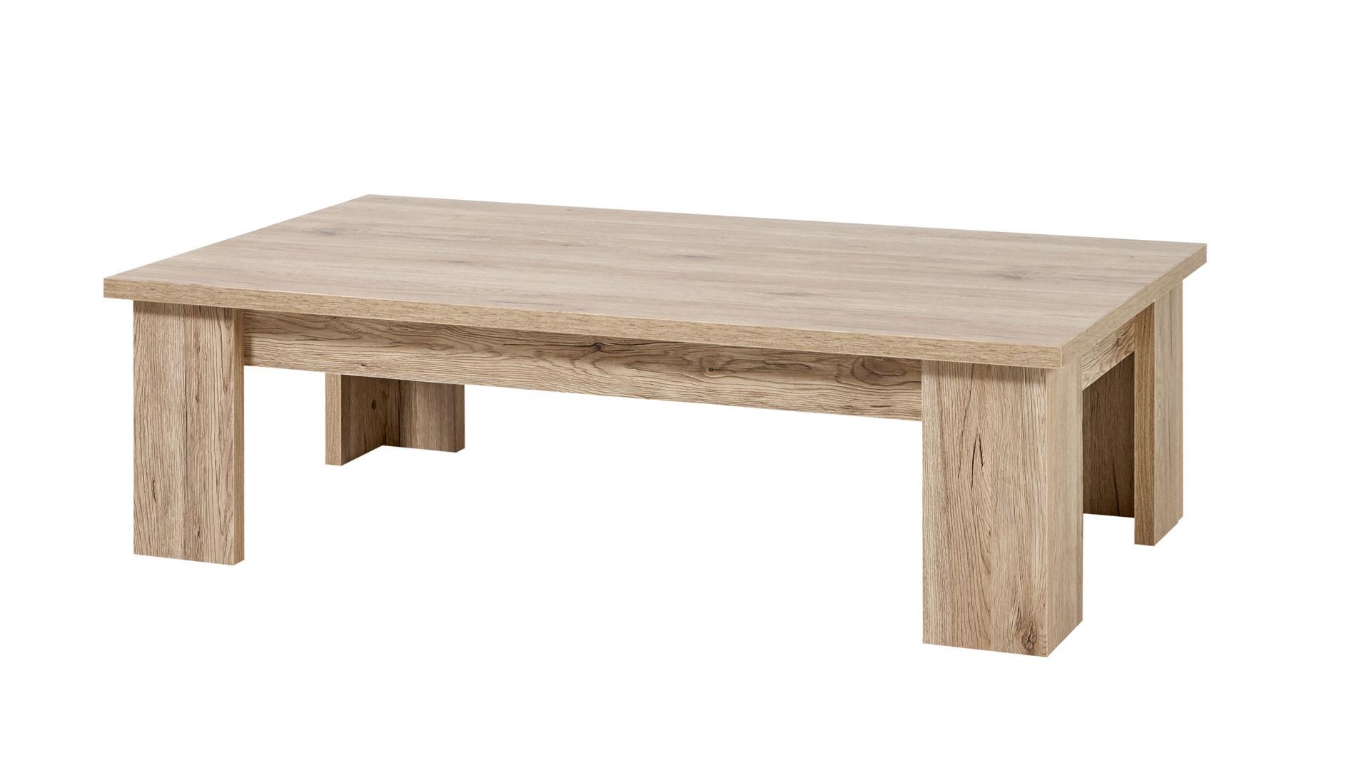Table basse contemporaine chêne sanremo Arielle