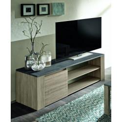 Meuble TV contemporain 130 cm Jessica