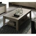 Table basse contemporaine chêne gris Jessica II
