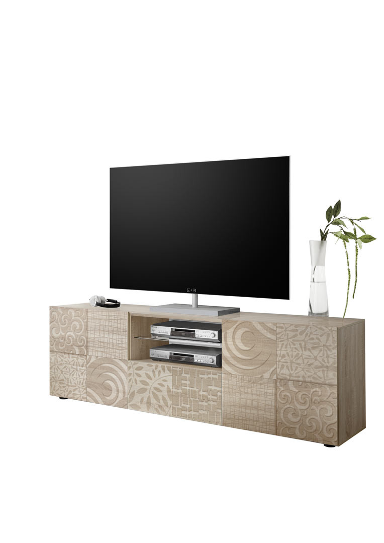 Meuble TV design 181 cm Stephane