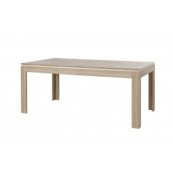 Table de salle à manger contemporaine chêne canberra Lazare