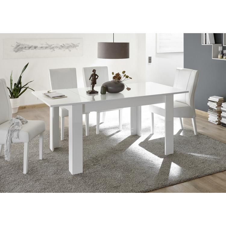Allonge de table blanche Agathe