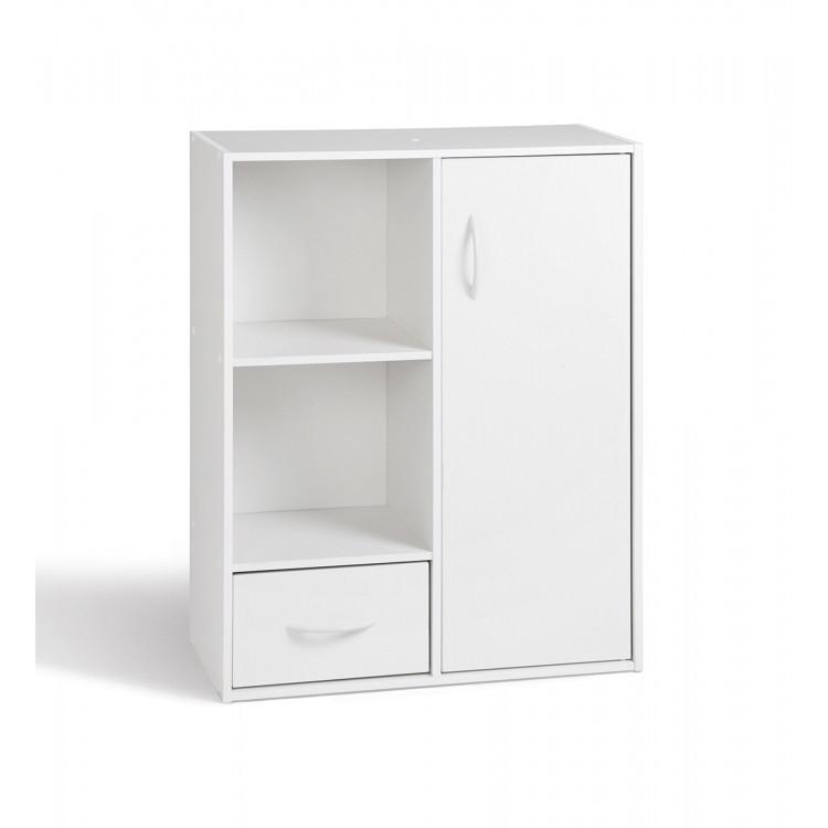 Etagère moderne 2 casiers/1 tiroir/1 porte Module