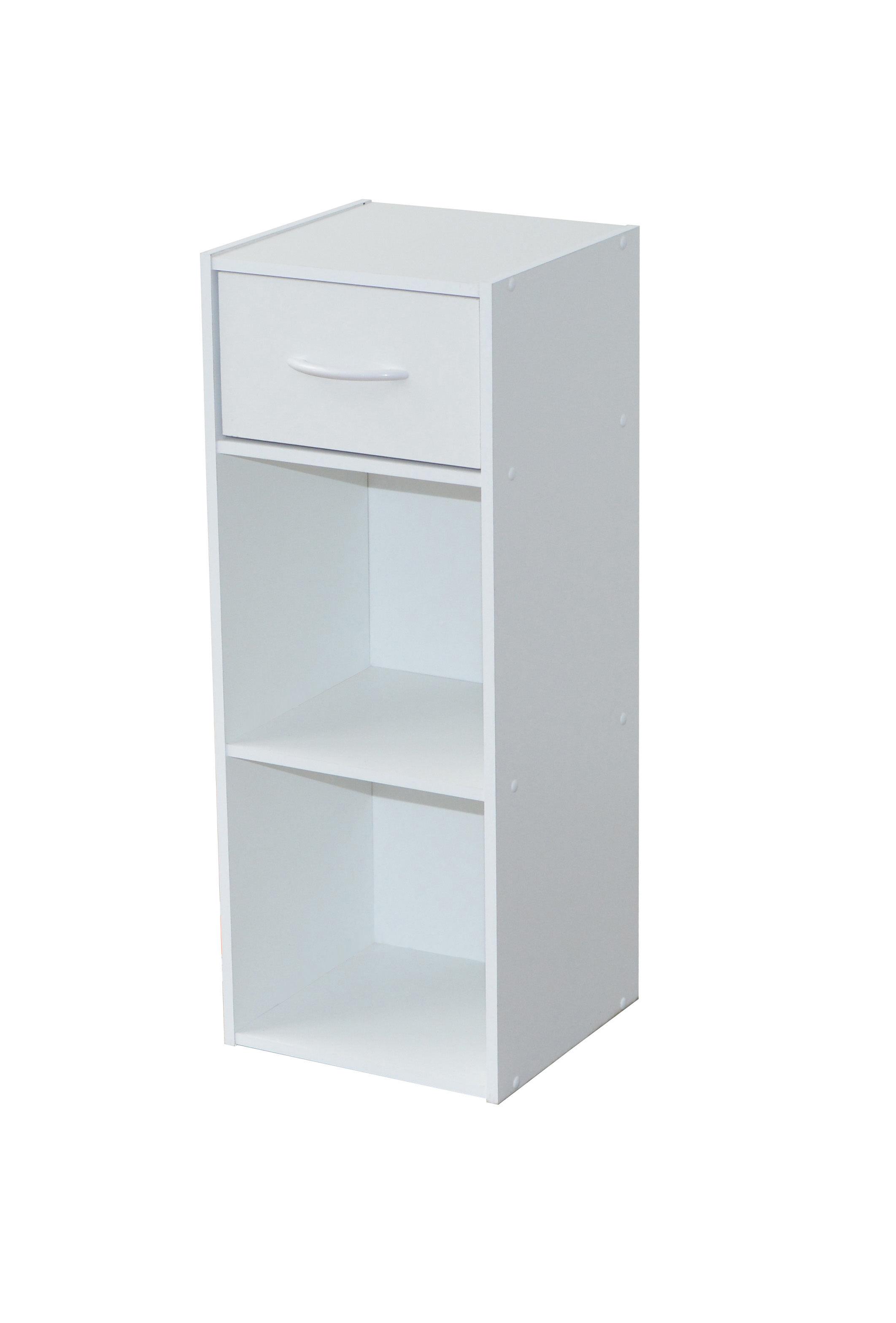 Etagère moderne 2 casiers/1 tiroir Module