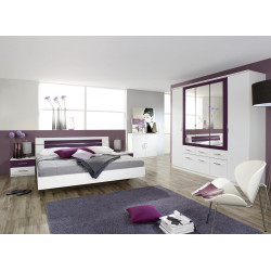 Chambre adulte contemporaine Venise